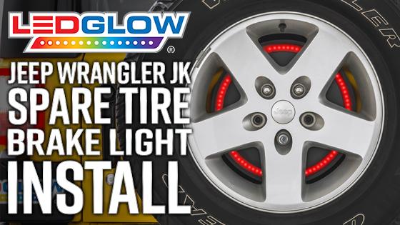 Spare Tire Brake Light for Jeep Wrangler JK
