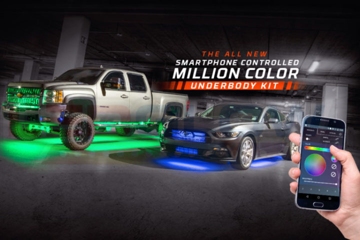 The all new million color smd led underbody lighting kit - Control lights with smartphone ...