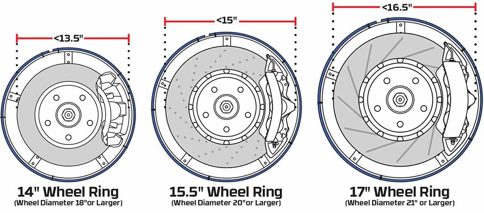 Wheel Ring Size Guide