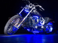 Classic Blue Motorcycle Lighting Kit
