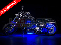 Classic Blue Motorcycle LED Lights