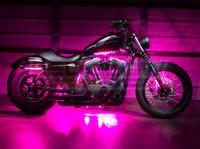 Advanced Pink Motorcycle Lighting Kit
