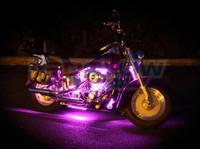 Classic Pink Motorcycle Lighting Kit