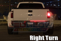 Right Turn Signal feature on Tailgate Light Bar