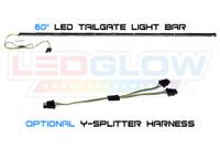 """60"""" LED Tailgate Light Bar & Optional Y-Splitter Harness"""