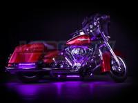 Classic Purple Motorcycle Lighting Kit