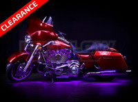 Classic Purple Motorcycle LED Lights