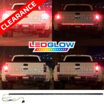 60 Inch Full Size Truck Red LED Tailgate Light Bar