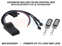 Advanced Million Color Control Box with Bluetooth 4.0 LE Technology