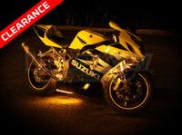 Classic Yellow Motorcycle Lights