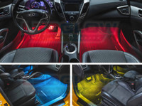 2pc 7 Color Interior Lighting