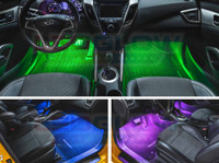 2pc 7 Color Interior LED Lights