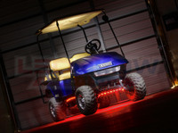 Red LED Golf Cart Lighting Kit