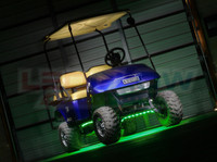 Green Flexible Golf Cart Lighting Kit