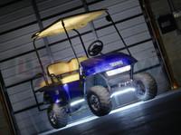White Flexible LED Golf Cart Lights