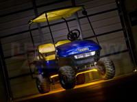 Flexible Yellow Golf Cart Lights