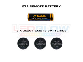 LEDGlow Replacement Wireless Remote Batteries