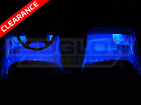 Expandable Blue LED Interior Lights