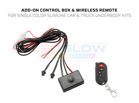 Add-On Control Box & Wireless Remote for Single Color Slimline Underbody Kits