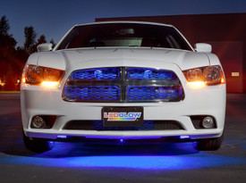"24"" Blue SMD LED Grille Light Add-On Tube for Wireless Underbody Kits"