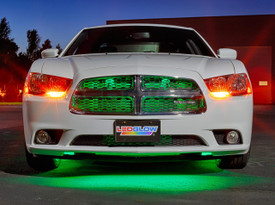 "24"" Green SMD LED Grille Light Add-On Tube for Wireless Underbody Kits"