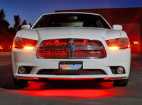 """24"""" Red SMD LED Grille Light Add-On Tube for Wireless Underbody Kits"""