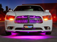 "24"" Pink SMD LED Grille Light Add-On Tube for Wireless Underbody Kits"