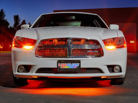"24"" Orange SMD LED Grille Light Add-On Tube for Wireless Underbody Kits"