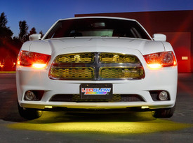 """24"""" Yellow SMD LED Grille Light Add-On Tube for Wireless Underbody Kits"""