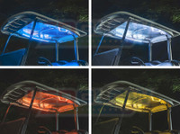 Canopy LED Lights for Million Color Golf Cart Underglow Kit