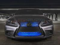 """24"""" Blue SMD LED Add-On Grille Light Installed"""