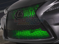 "24"" Green SMD LED Add-On Grille Light Installed"