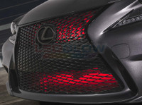 """24"""" Red SMD LED Add-On Grille Light Installed"""