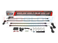 Amber Wireless SMD LED Underbody Lighting Kit What's Included