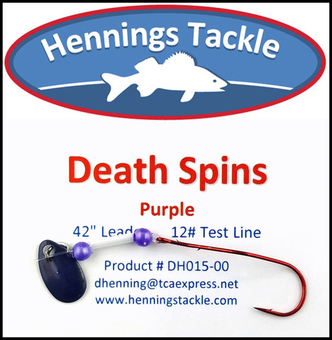 Death Spins - Purple