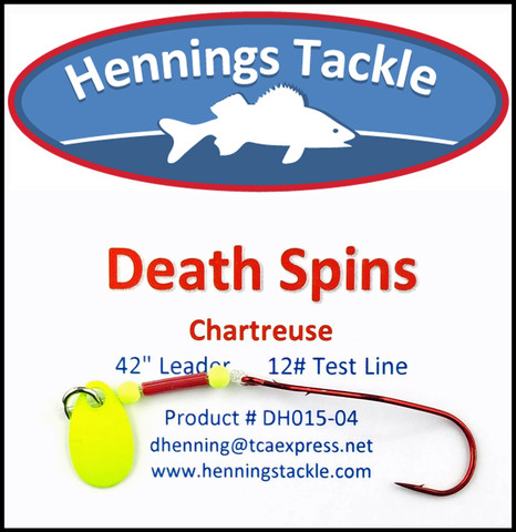 Death Spins - Chartreuse