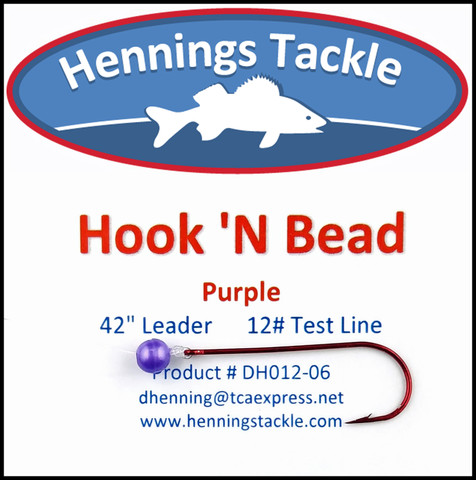 Hook 'N Beads - Purple