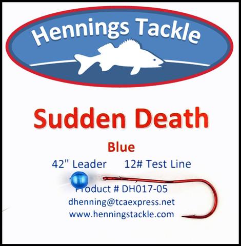 Sudden Death - Blue