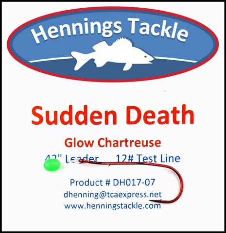Sudden Death - Glow Chartreuse