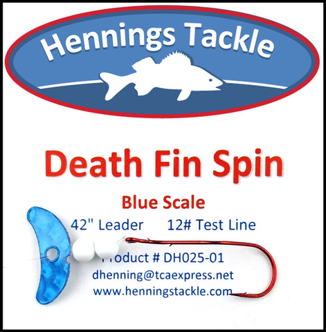 Death Fin Spins - Blue Scale