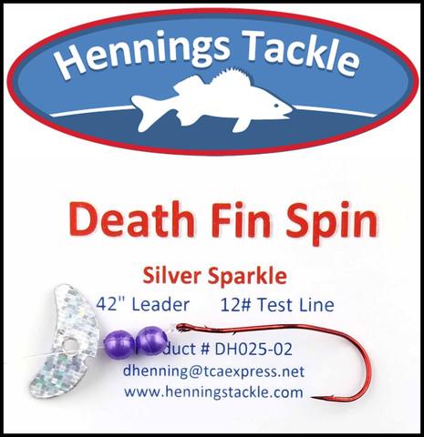 Death Fin Spins - Silver Sparkle
