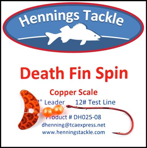 Death Fin Spins - Copper Scale