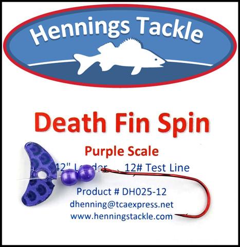 Death Fin Spins - Purple Scale