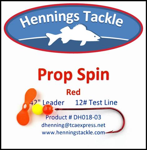 Prop Spins - Red