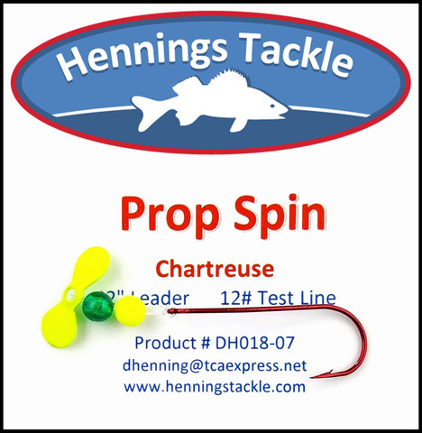 Prop Spins - Chartreuse
