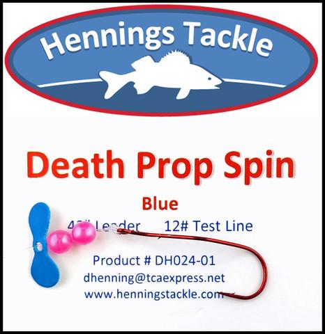 Death Prop Spins - Blue