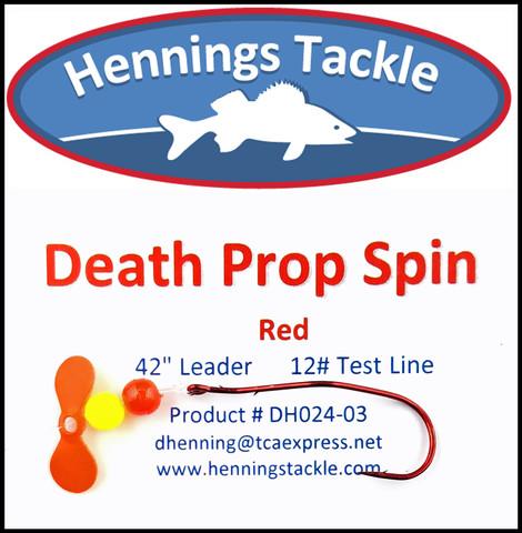 Death Prop Spins - Red