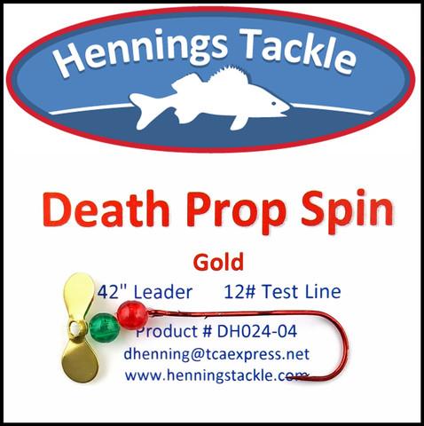 Death Prop Spins - Gold