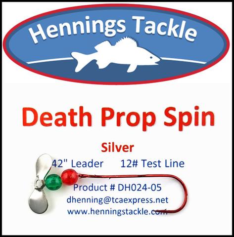 Death Prop Spins - Silver
