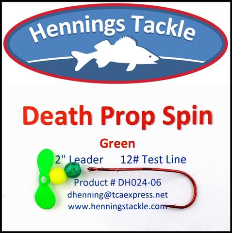 Death Prop Spins - Green